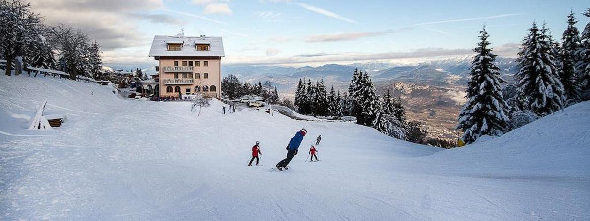 Viaggiare bene hotel Norge in Monte Bondone ski in ski out inverno